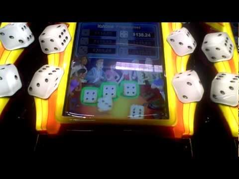 Slot machine Progressive bonus win on Yahtzee at Sands Casino in Bethlehem, PA