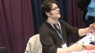 Sean Schemmel King kai cosplay Dubbing Anime Boston 2011