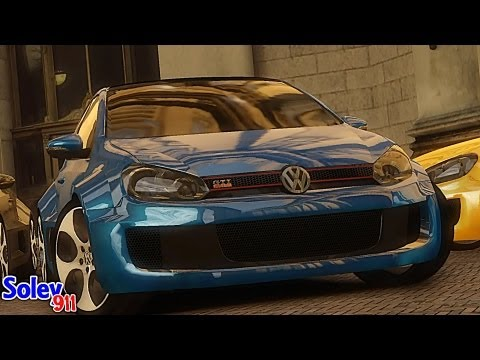GTA 4 Volkswagen Golf W12 !!  ENB series Extreme Graphics  [ Car mods + RealizmIV + VisualIV ]