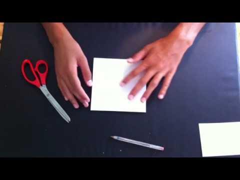 faire un pouet pouet en papier pliages faciles cocotte en origami youtube. Black Bedroom Furniture Sets. Home Design Ideas