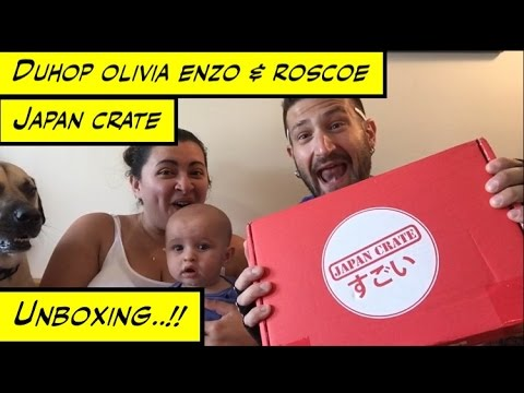Duhop JAPAN CRATE UNBOXING ! EXOTIC TREATS AND MORE