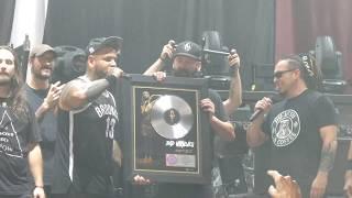 "Download Lagu ""Zombie & FFDP Presents Band Platinum Selling Record"" Bad Wolves@Camden, NJ 8/15/18 Gratis STAFABAND"
