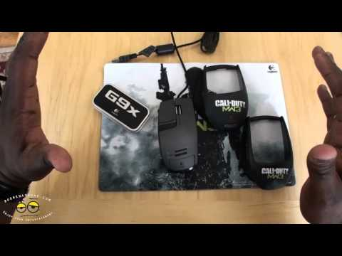 Logitech G9X Laser Mouse Review- Call of Duty MW3 Edition