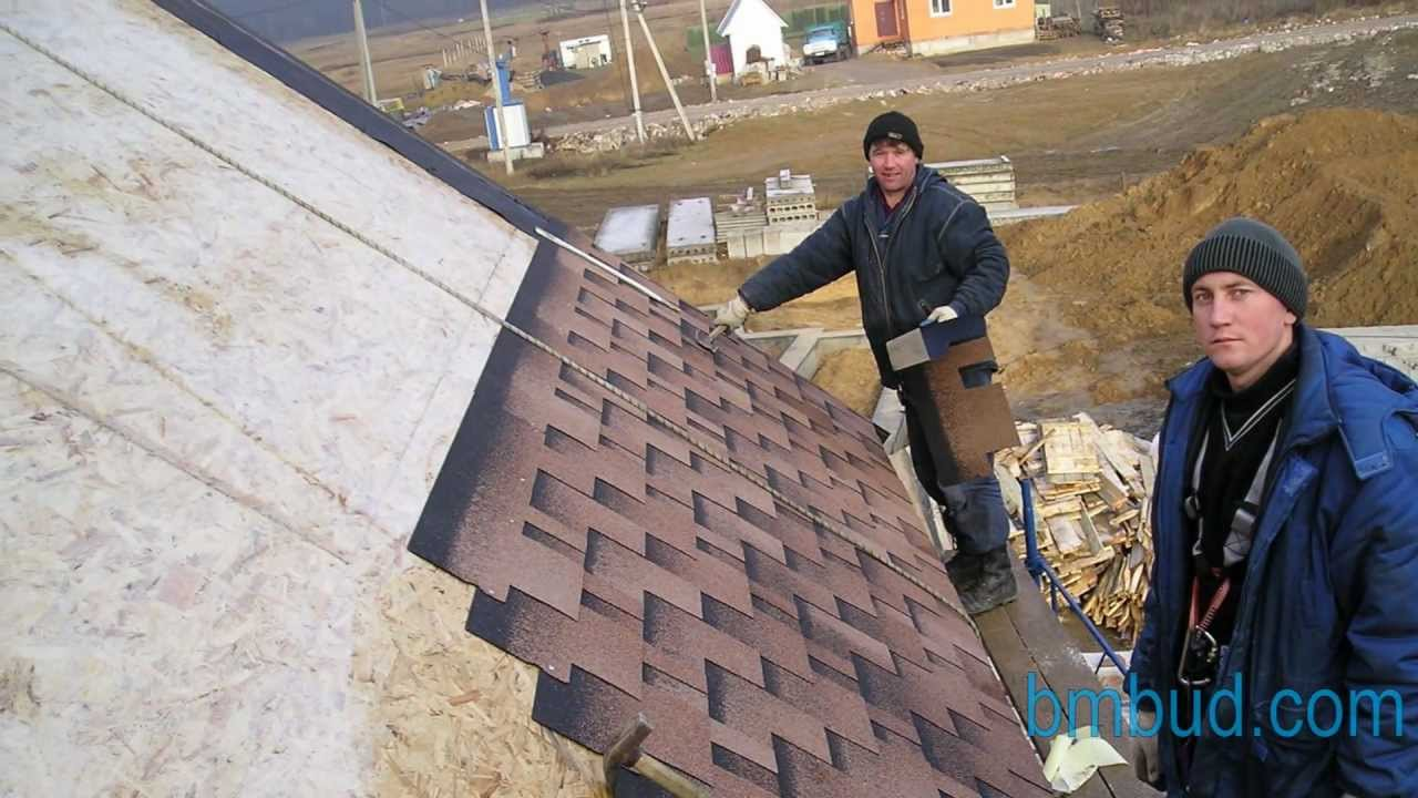 Как сделать крышу из мягкой кровли своими руками 62