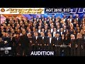 "Angel City Chorale Choir with ""AFRICA"" AWESOME Americas Got Talent 2018 Audition AGT"