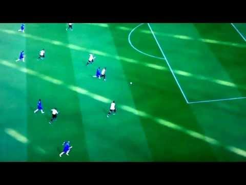 Eto goal - Tottenham vs Chelsea - PES 2014