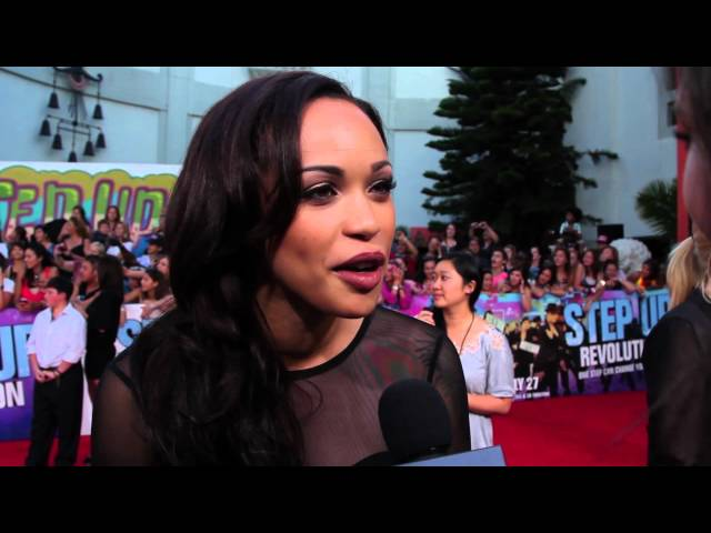 Cleopatra Coleman Interview - 'Step Up Revolution' Premiere