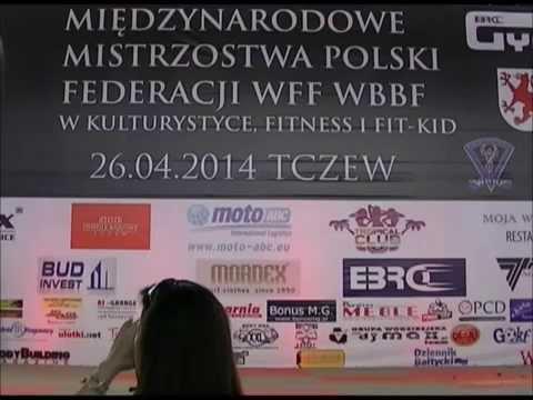 Federacja Wff Wbbf Poland Relacja Video Fitness Aerobic Women Do Lat 16 video
