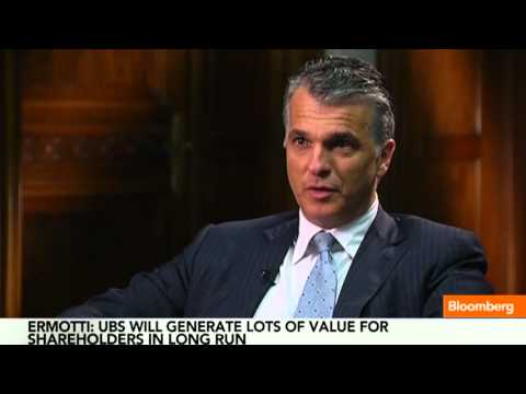 Sergio Ermotti: 'Extremely Pleased' with UBS Progress