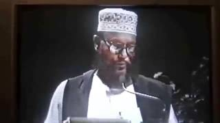 Allama Sayeedi English Lecture