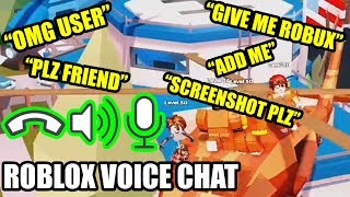 TESTING OUT Roblox VOICE CHAT FEATURE (Roblox Jailbreak)