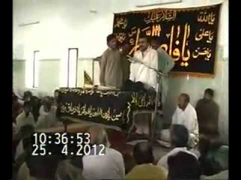 Zakir Qazi Waseem Abbas (full Qasida Dil Bey Qarar video