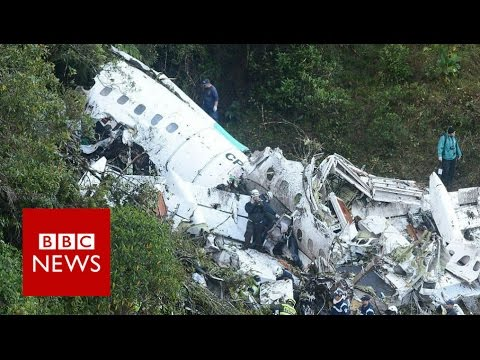 Chapecoense air crash: (Audio)'We are without fuel' - BBC News
