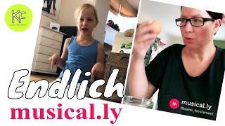 MUSICALLY Premiere! So LUSTIG 🤣Isabel + Mama bei Musical.ly 🤣 SHUFFELN 🤦‍♀️ KLEINE FAMILIENWELT