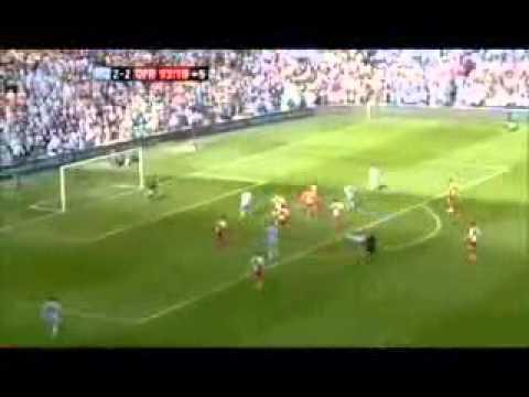 Sergio aguero last minute goal vs. QPR
