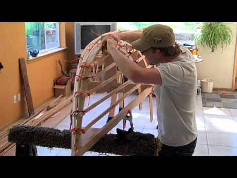 Skin On Frame Canoe Building Part 2