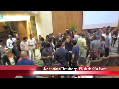 STMBKK - Stack That Money - F5 Media CPA Marketers Gathering in Bangkok Thailand!