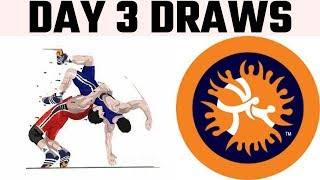 World Wrestling Championship Day 3 Draws..