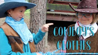 """I've got spurs and boots"" (Cowboy's clothes song) - CHATTING KIDS Wild West Camp 2017"