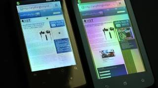 Speed Test_ Cowon D3 (Android 2.3.3) vs. Archos 32 (Android 2.2.1)