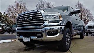 2019 Ram 3500 Diesel: The 1000 LB-FT Of Torque Monster!