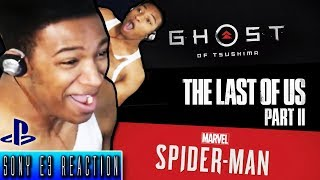 Etika Reacts to SONY E3 Conference - Funny/Hype Moments [Stream Highlight]