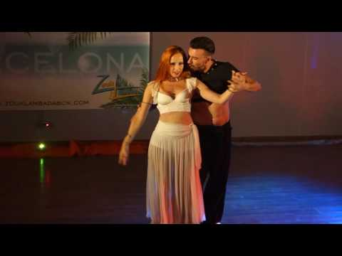 00076 ZLBF2016 Artistic Performance by Marcela and Antonio ~ video by Zouk Soul