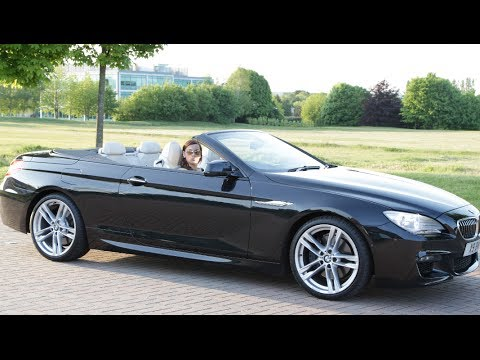 90 second teaser of my car review bmw 640i convertible youtube. Black Bedroom Furniture Sets. Home Design Ideas