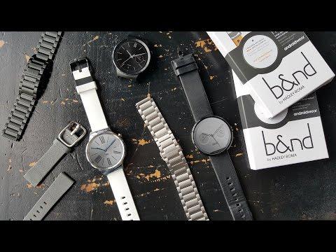 MODE для Android Wear — фирменные ремешки от Google