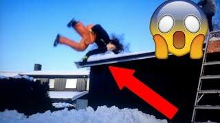faller ned fra taket!?