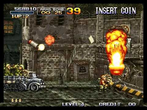 Metal Slug - Super Vehicle-001 - Metal Slug - Mission 5 Perfect Run - User video