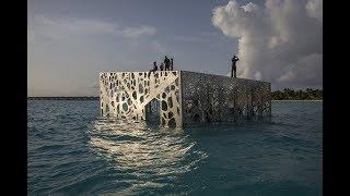 The Sculpture Coralarium by Jason deCaires Taylor