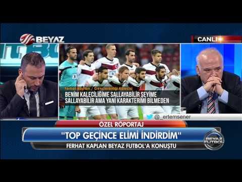 Olay kaleci Ferhat o anları Ertem Şener'e anlattı