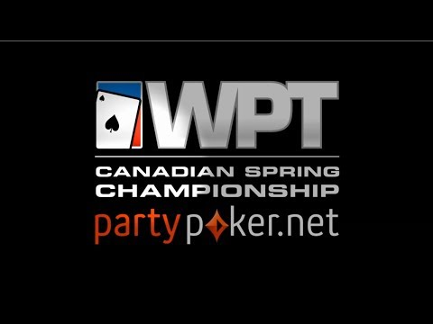 WPT National Final Table Live Stream: Canadian Spring Championship