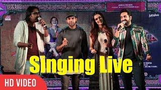 Ayushmann Khurrana Singing Live Nazm Nazm Bareilly Ki Barfi New Song