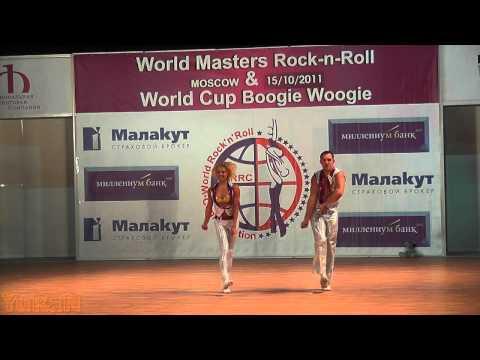 Olga Sbitneva & Ivan Youdin - World Masters Moskau 2011
