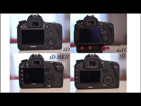 Canon EOS 6D Review (Video Mode) + Comparison Video for HDSLR filmmaking