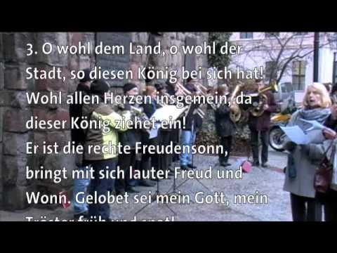 Berlin mitte choral macht hoch die t r die tor macht for Macht hoch die tur die tor macht weit