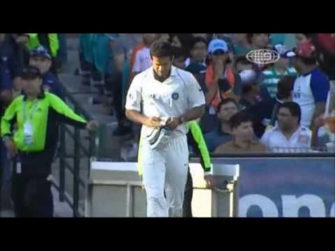 Michael Clarke 3-wicket Matchwinning over vs India 2nd Test 07-08