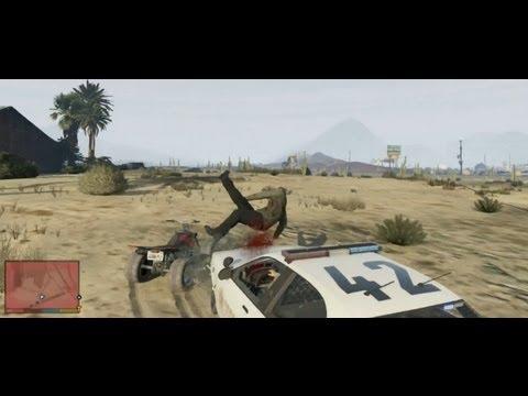 GTA V : Crash ! Speed ! Adrénaline ! Il y a de quoi se faire plaisir