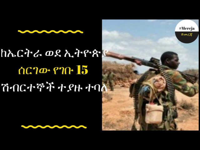 ETHIOPIA -Ethiopia arrests 15 trained terrorists