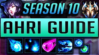 [GOD TIER] AHRI GUIDE SEASON 9 (2019) ULTIMATE GUIDE [BEST RUNES, ITEMS, GAMEPLAY, COMBOS] | Zoose