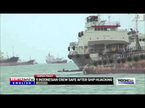Indonesian Crew Safe After Oil Tanker Hijacking in Malaysia
