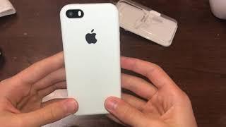 Оригинальный чехол на iPhone SE с AliExpress