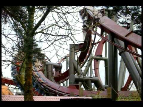 Thorpe Park Feb 2009 Saw Ride Testing