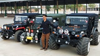 SUPER MODIFIED JEEPS | CUSTOMER CHOICE | RAJESH JAIN MOTOR | FOR ORDER CONTACT @ 9035785000