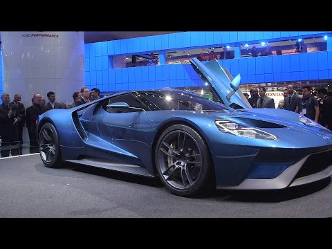 Hands-On With Ford's Lamborghini-Wannabe GT Supercar