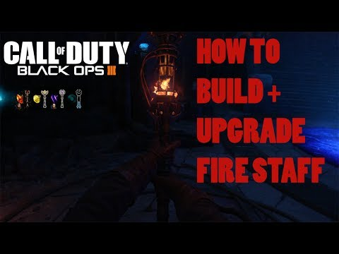 ORGINS - FIRE STAFF BUILD + UPGRADE TUTORIAL GUIDE (Black Ops 3 Zombies Chronicles)
