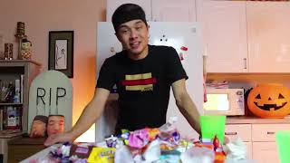 Matt Stonie! AYCE Halloween Candy Challenge (100+ pieces of Candy)