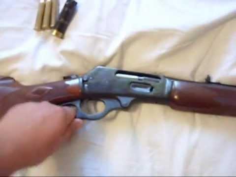 My two new cowboy guns (.22LR & .45/70 Govt)